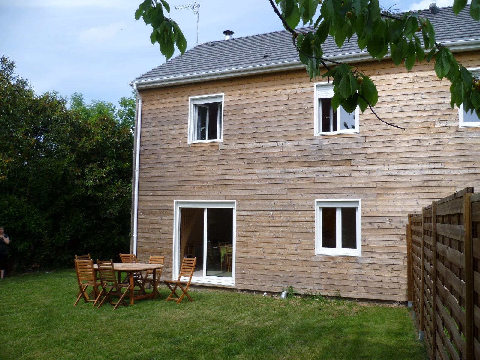 vente maison ossature bois 3 chambres voves